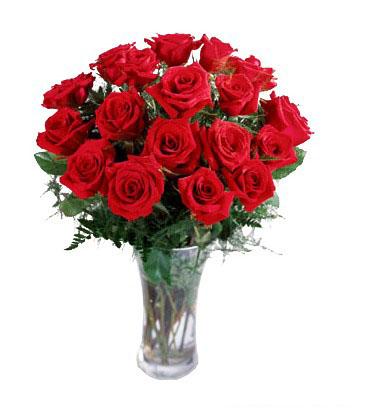 玫瑰花插花
