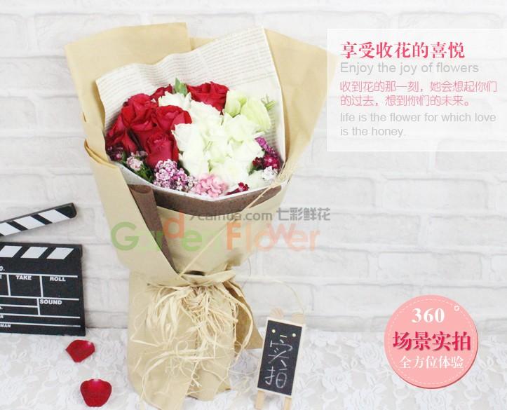 老婆生日送什么花好_老婆过生日送什么花-花百科