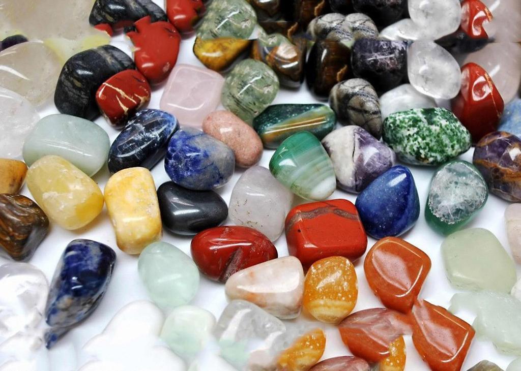 绿萝盆景材料彩石