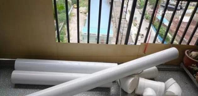 阳台种菜利器-PVC管