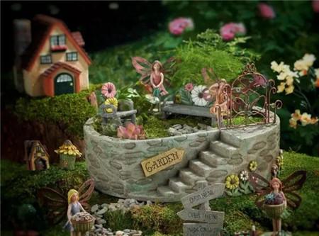 多么想住在里面,梦幻的花园!