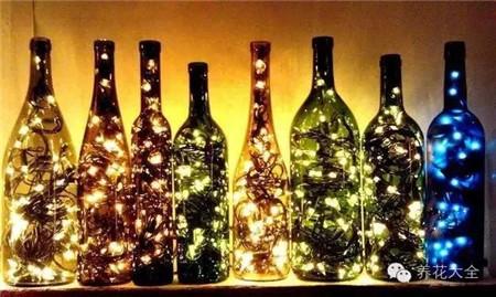 创意酒瓶灯