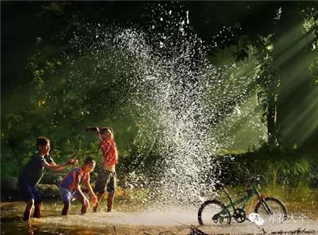 没有补习班没有兴趣班,一切爱好都是源自村里的山山水水