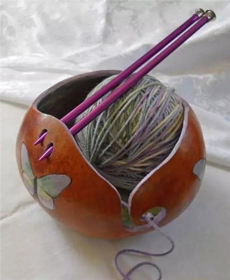 钩编的工具葫芦