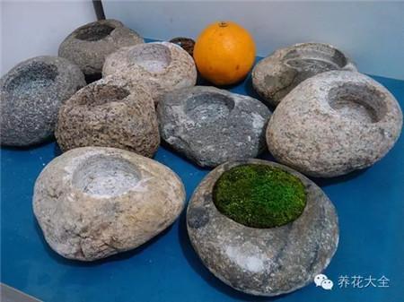 挖好的石头