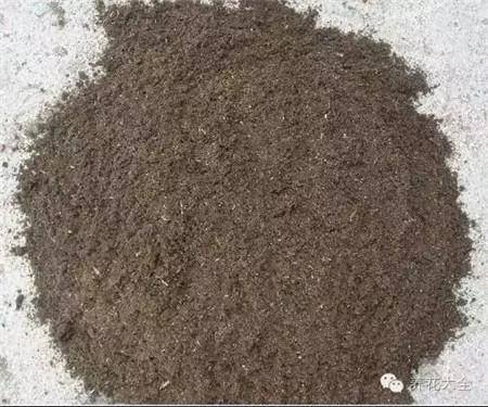 泥炭和草木灰