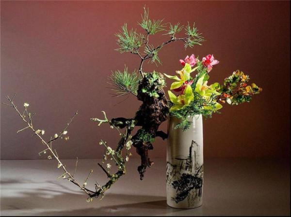 直立式花瓶