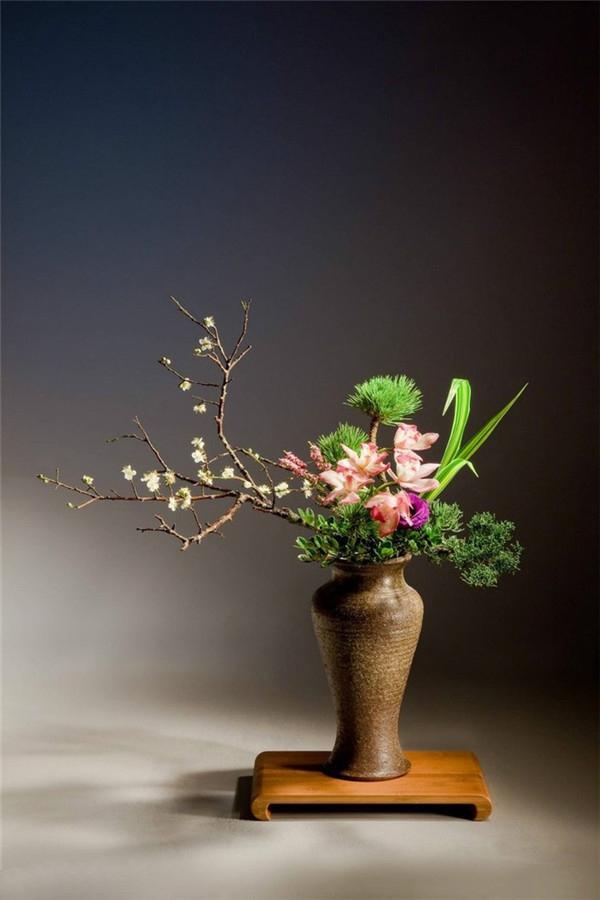 花器和花材完美结合